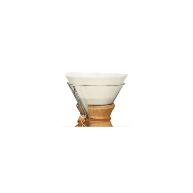 Filtros Chemex – Blancos circulares 6 tz. (100ud.) - El Magnífico