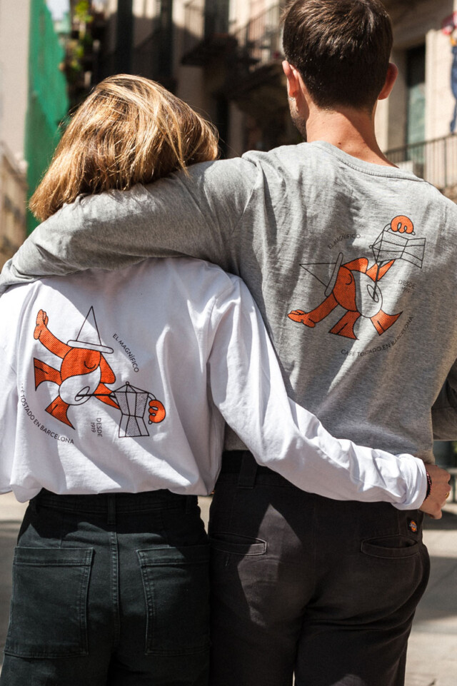 Camiseta manga larga - El Magnífico